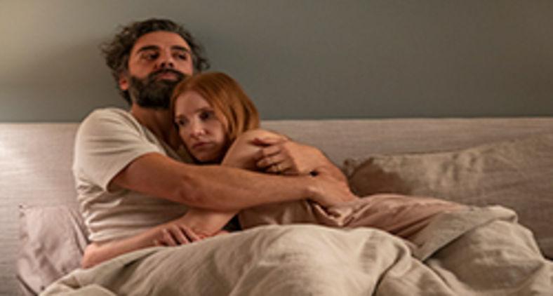 Jessica Chastain e Oscar Isaac em 'Cenas de um casamento' (HBO)