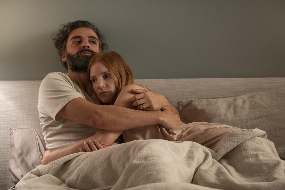 Jessica Chastain e Oscar Isaac em 'Cenas de um casamento'