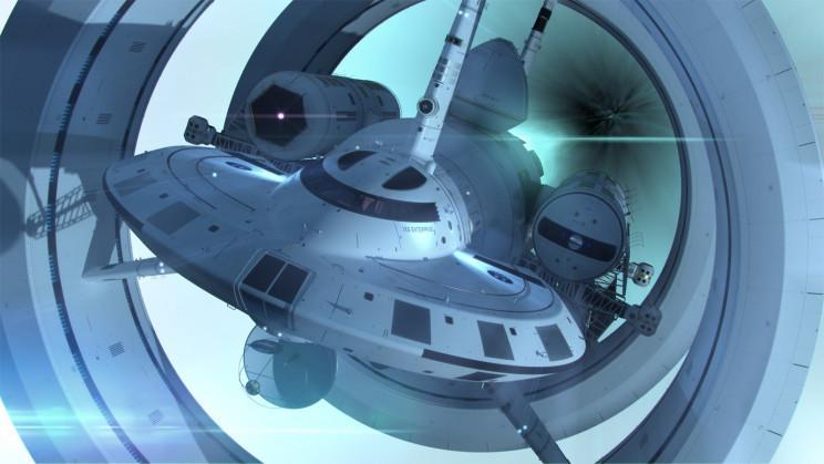 Nasa Enterprise Starship (modelo futurístico para nave com 'propulsão de dobra')