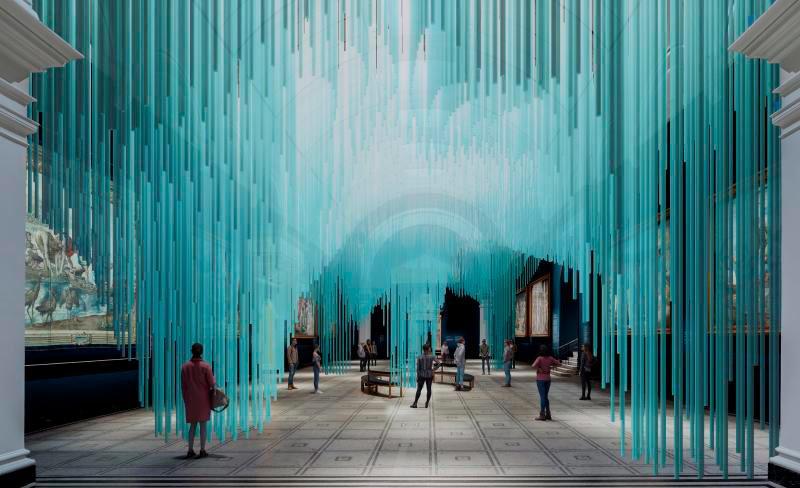 Obra do arquiteto japonês Sou Fujimoto e pelo produtor de tecnologia Tim Drum chamada 'Medusa'