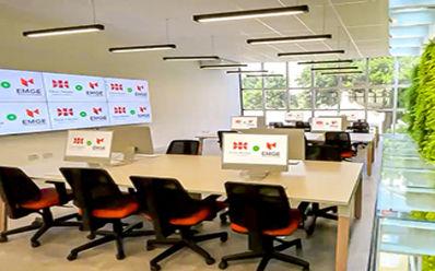 A estrutura da EMGE foi ampliada para receber os estudantes, com a criação de espaços tecnológicos para atender às necessidades de cada área. (Pedro Diaz / Necom Dom Helder e EMGE)
