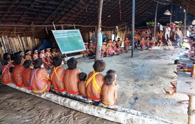 Indígenas relatam tragédia causada pelo garimpo ilegal