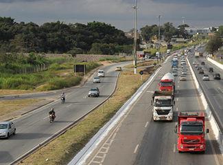 Anel Rodoviário de Belo Horizonte, com 27km de extensão. (DER/MG)