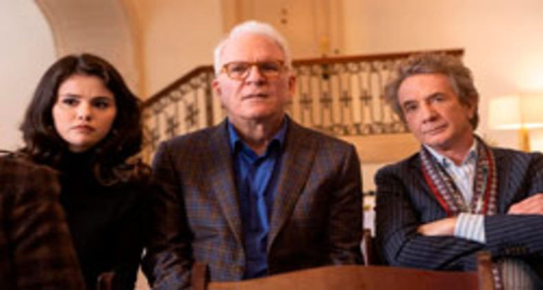 Selena Gomez, Steve Martin e Martin Short formam um trio hilário na série 'Only murders in the building' (Star+/Divulgação)