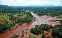 Danos ambientais decorrentes do rompimento da barragem da mina Córrego do Feijão, da mineradora Vale, em Brumadinho (Vinicius Mendonça/Ibama/Fotos Públicas)