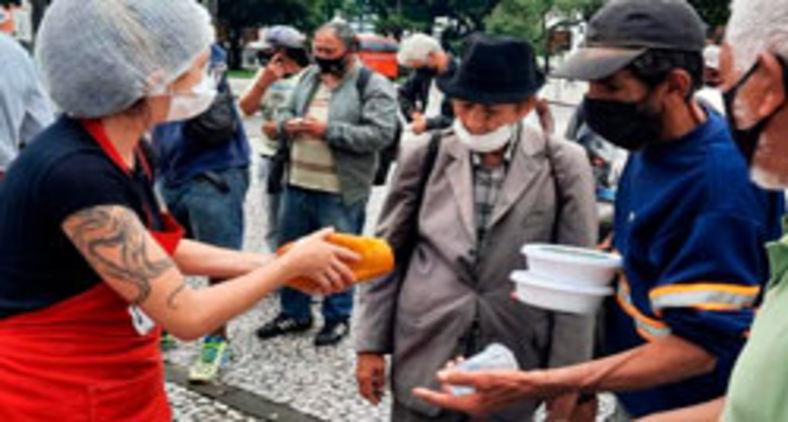 Em um país assolado pela fome, é dever dos cristãos levantar-se contra os responsáveis (Valmir Fernandes/Coletivo Marmitas da Terra/Fotos Públicas)