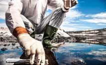 Quase metade das cidades brasileiras (44%) têm fontes de captação de água vulneráveis que atendem a 5,8 milhões de habitantes (Leo Patrizi/Getty Images/AFP)