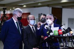 Aliados contestam relatório final do senador Renan Calheiros (Pedro França/Agência Senado)