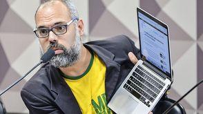 Allan do Santos pode ser preso a qualquer momento nos EUA (Alessandro Dantas/Agência Senado)