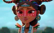 A série traz elementos mitológicos e contemporâneos da cultura caribenha (Netflix)