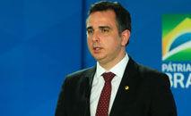 Aliado de Bolsonaro, Pacheco deve enfrentar presidente em 2022 (Valter Campanato/ABr)