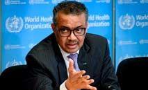Tedros Adhanom Ghebreyesus, diretor-geral daOMS, reitera a desigualdade na distribuição das vacinas contra Covid-19 (Fabrice Coffrini/AFP)
