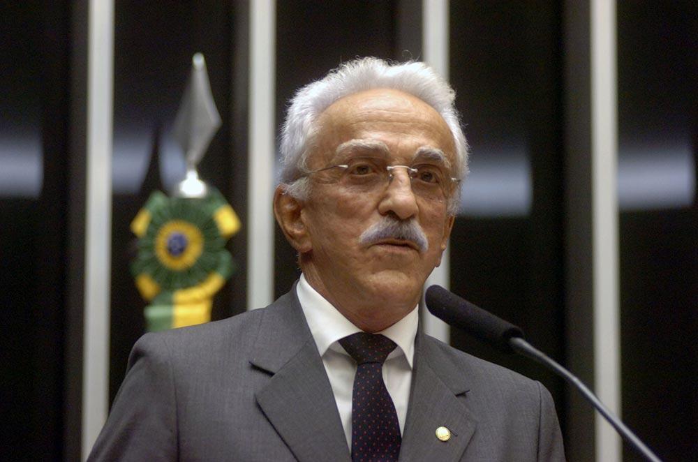 Lael Varella foi deputado por sete mandatos seguidos (Gilberto Nascimento/ Câmara - 10/02/2009)