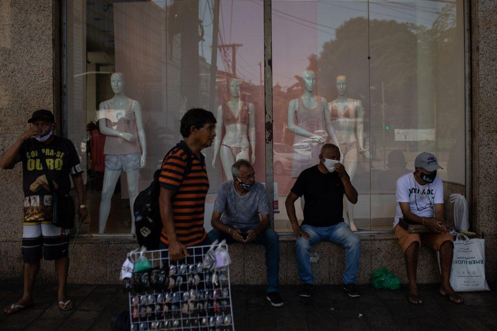 Movimento no centro de Manaus (Bruno Kelly/Amazônia Real)