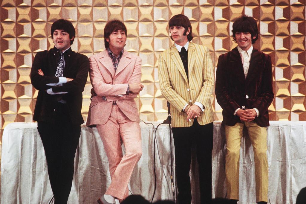 Beatles no Japão, em 1966 (AFP)