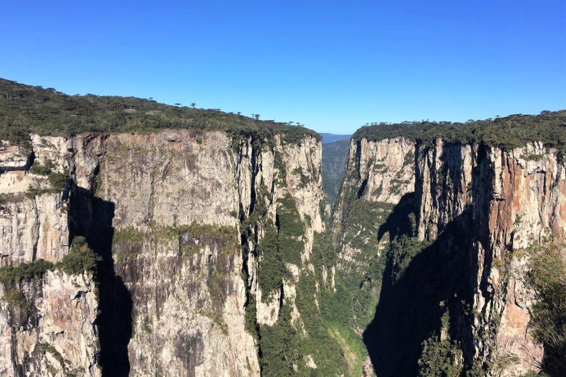 O Cânion do Itaimbezinho, no Parque Nacional de Aparados da Serra, será um dos núcleos prioritários de investimentos (Duda Menegassi)