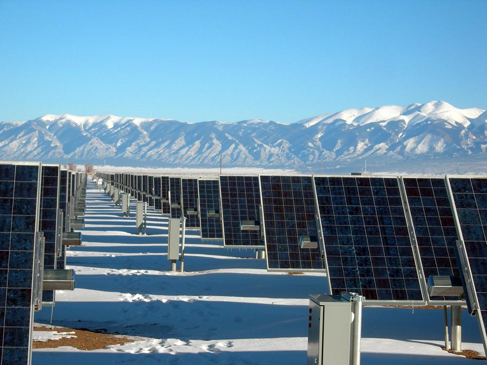 Painéis de energia solar (U.S. Department of Energy)