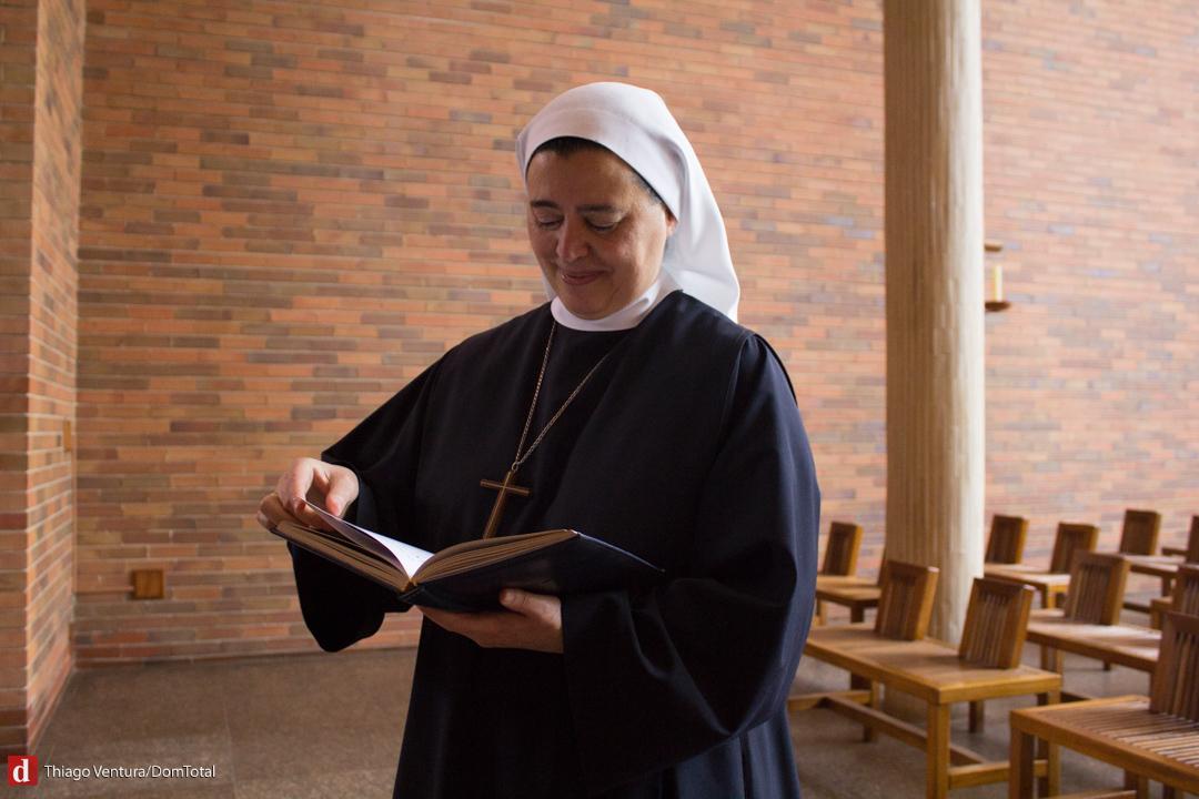 Madre Maria Letícia, OSB foi eleita abadessa com apenas três anos de votos solenes