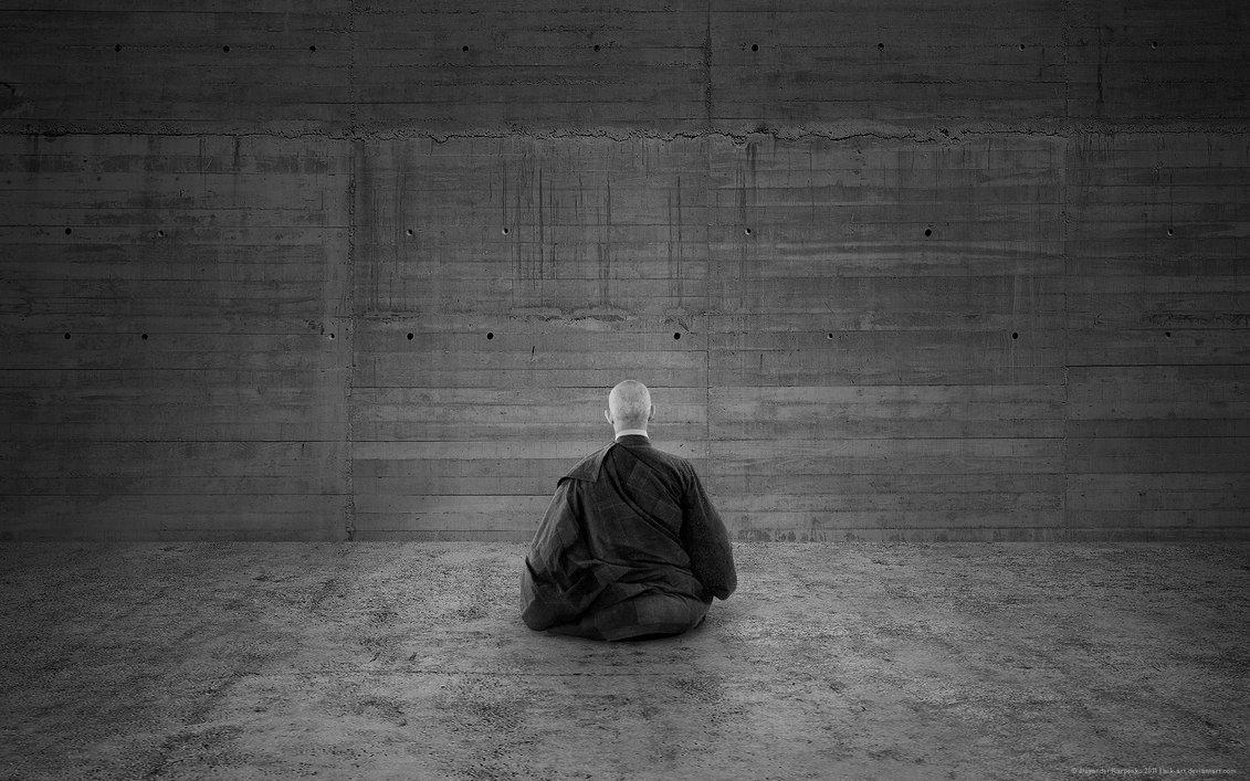 """Taizen Korematsu: """"Zen é fazer zazen e varrer o templo, não importa o tamanho do templo""""."""