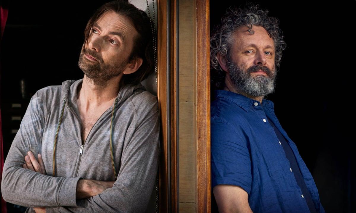 David Tennant and Michael Sheen. Foto: Simon Ridgeway e Paul Stephenson/GCB Films/Infinity Hill /BBC