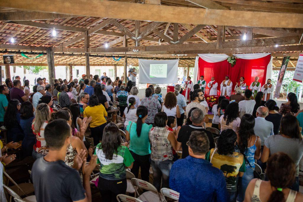 Celebração pelos 15 anos da morte de Dorothy Stang (Cícero Pedrosa Neto/ Amazônia Real)