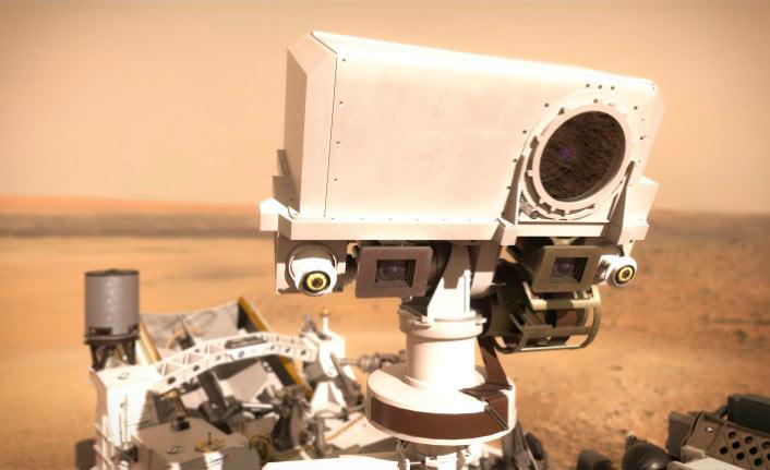 SuperCam vai registrar imagens em alta resolução da superfície de Marte (Nasa)