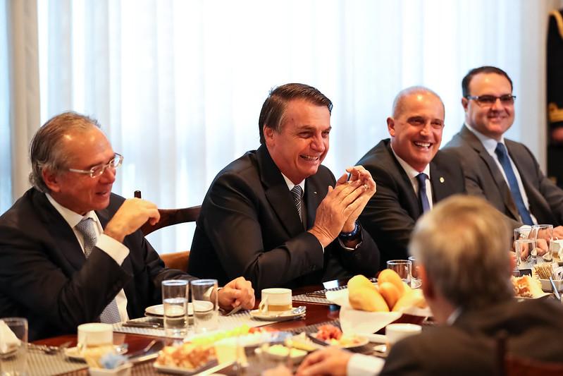 Políticos sempre com a mesa farta (Marcos Corrêa/PR)