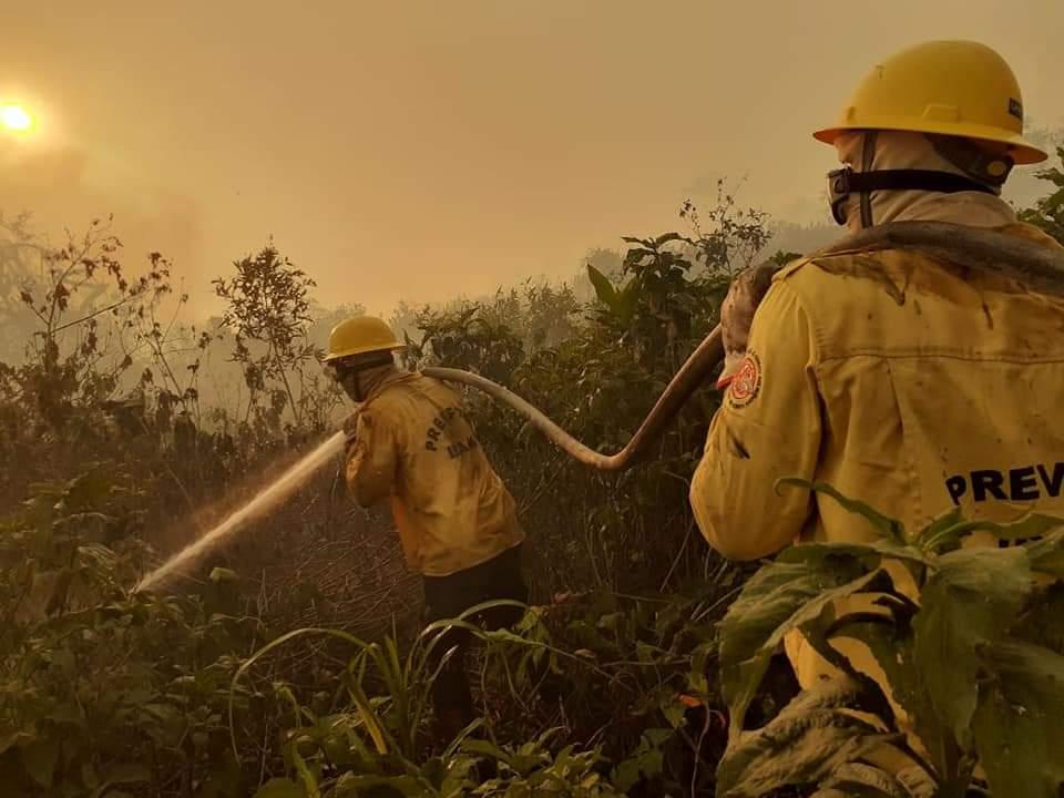 Dados meteorológicos já apontavam aumento das queimadas em 2020, mas governo atrasou edital para novos brigadistas (Divulgação PrevFogo)