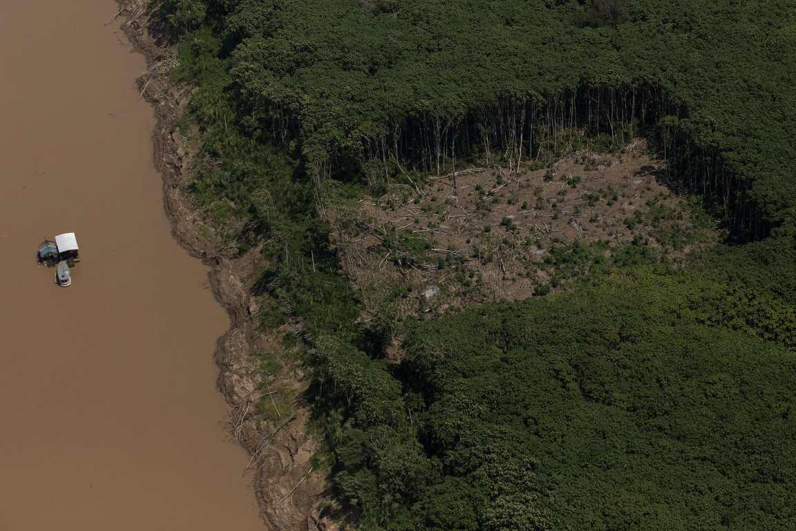 Desmatamento e queimadas são as principais fontes de emissões brasileiras (Amazônia Real/Flickr)