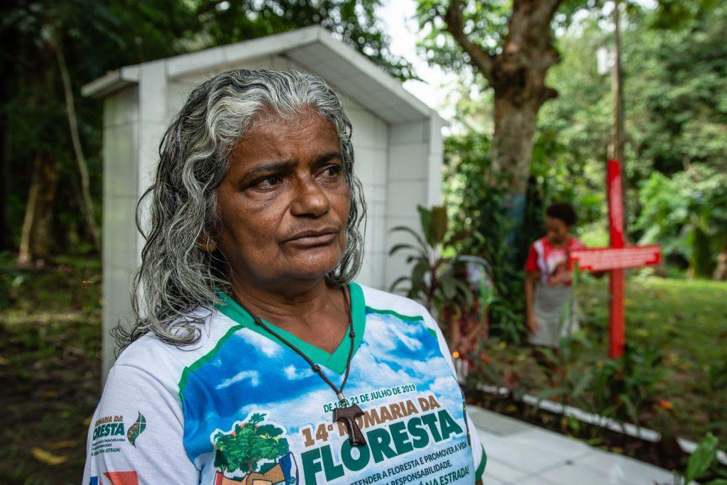 Antonia Silva Lima está ameaçada no PDS Esperança (Cícero Pedrosa Neto/ Amazônia Real)