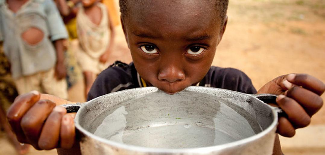 A sobrevivência humana está ameaçada pela escassez de água potável