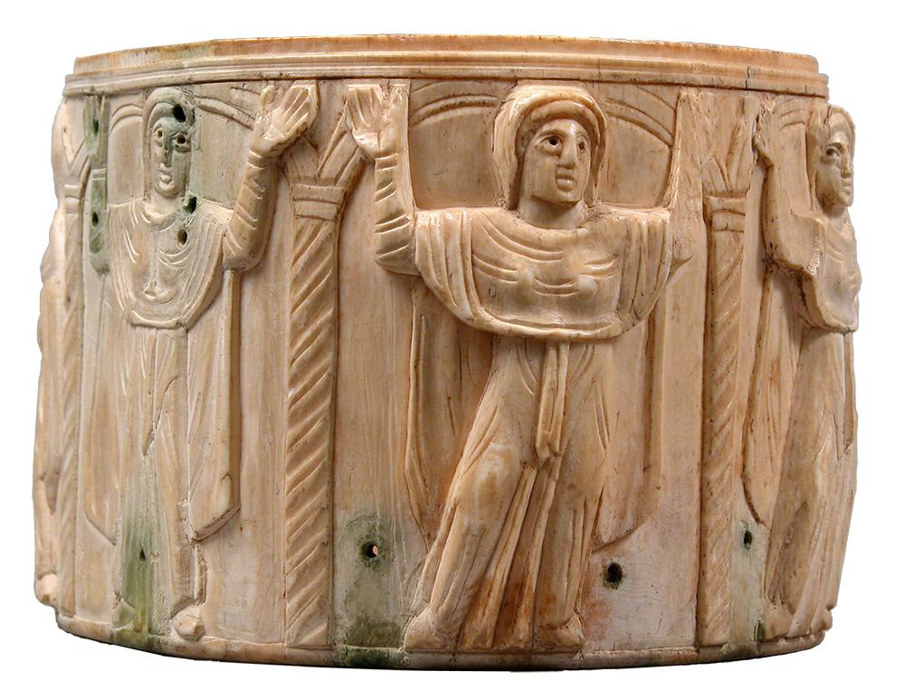 Terceiro artefato mais antigo para retratar pessoas no altar de uma igreja real; A-C Anastasis, Jerusalém