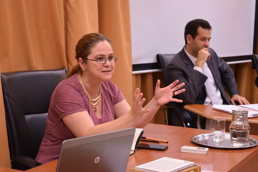Professora Maraluce Maria Custódio, da Dom Helder.