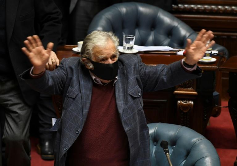 Ex-presidente uruguaio de 85 anos José Mujica (Pablo Porciuncula/AFP)