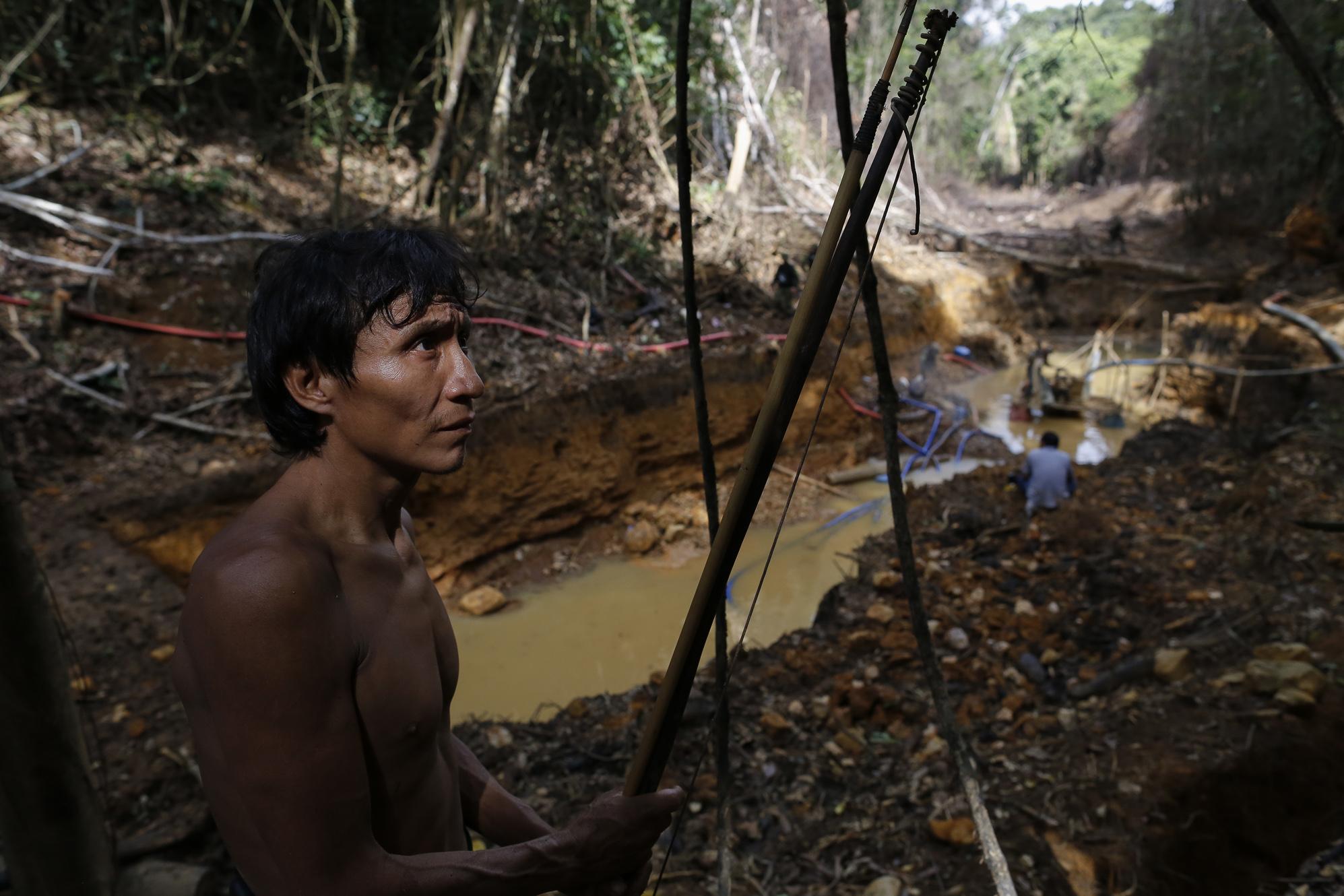 O povo Yanomami quer a expulsão dos garimpeiros (Bruno Kelly)