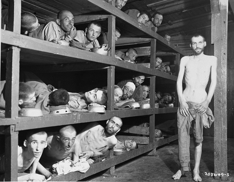 """""""80% dos deportados eram enviados para as câmaras de gás; nenhum sobreviveu""""."""