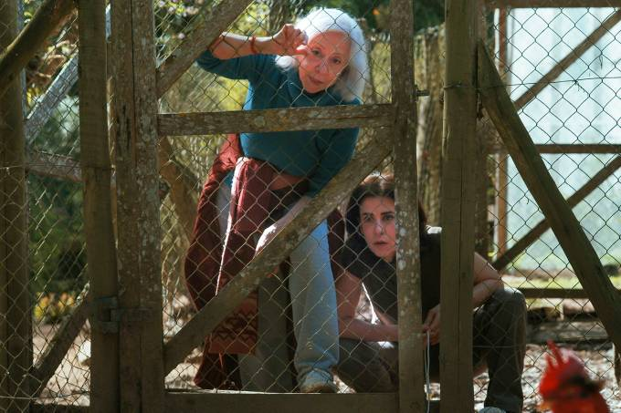 Mãe e filha atuam em série sobre confinamento (Reprodução Globoplay)