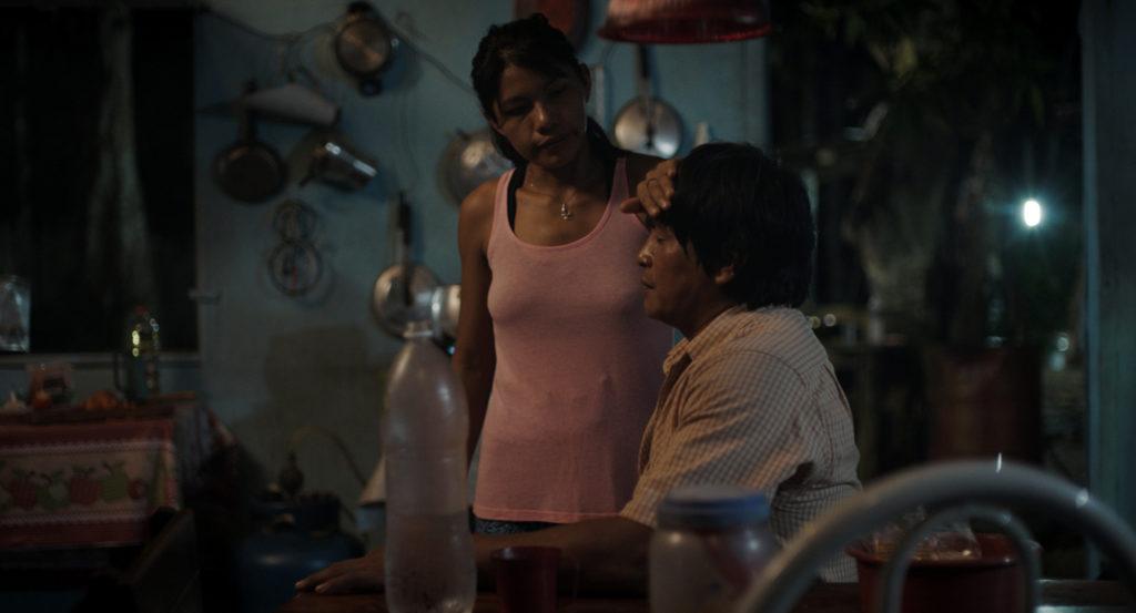 Rosa Peixoto e Regis Myrupu como Vanessa e Justino (Divulgação)